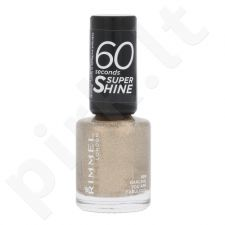 Rimmel London 60 Seconds Super Shine nagų lakas, kosmetika moterims, 8ml, (809 Darling, You Are Fabulous!)