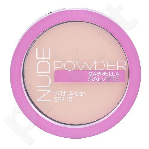 Gabriella Salvete Nude Powder, kompaktinė pudra moterims, 8g, (02 Light Nude)