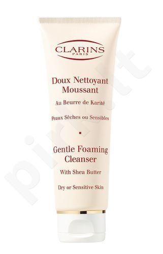 Clarins Gentle putos valiklis Dry Skin, 125ml moterims