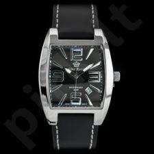 Klasikinis juodas laikrodis GR6413JB