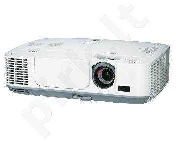 Projektorius NEC  M311W (3100lm, x 1.7 zoom, 3000:1, 8,000h lamp)