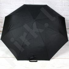 KULIK PA87 juodas pusiau automatinis sudedamas skėtis unisex