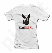 """Moteriški marškinėliai """"PLAY GIRL"""""""