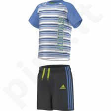 Komplektas Adidas Boys Summer Set K S17159