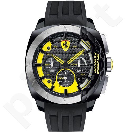 Ferrari Aerodinamico 0830206 vyriškas laikrodis-chronometras