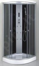 Masažinė dušo kabina KM881 90x90