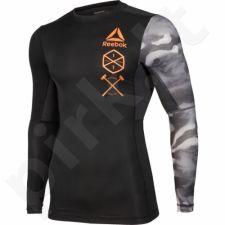 Marškinėliai kompresiniai Reebok Activchill Long Sleeve M BK3944