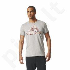 Marškinėliai adidas Essentials Bos Foil Regular Tee M CD9218