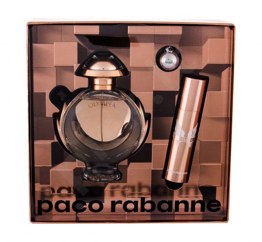 Paco Rabanne Olympéa, rinkinys kvapusis vanduo moterims, (EDP 50 ml + EDP 10 ml + raktų pakabukas)
