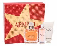 Giorgio Armani In Love With You, Emporio Armani, rinkinys kvapusis vanduo moterims, (EDP 100 ml + EDP 15 ml + rankų kremas 50 ml)