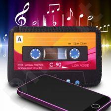 Retro kasetės dėklas telefonui
