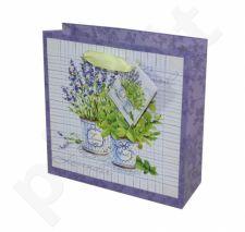 Dovanų maišelis Basil & Lavender Sq 95006