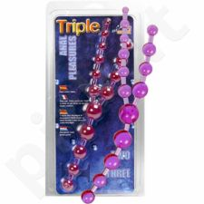 Triple Anal Pleasure Beads