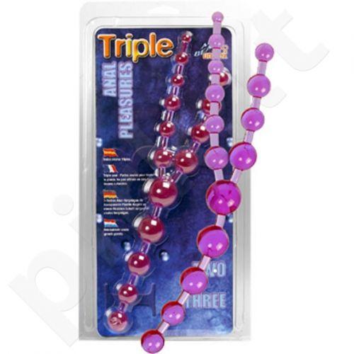 Triple Anal Pleasure Beads