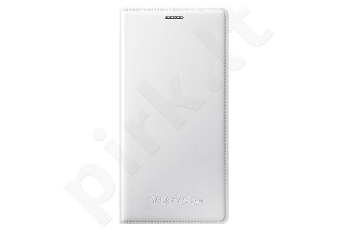 Samsung Galaxy S5 mini atverčiamas dėklas baltas
