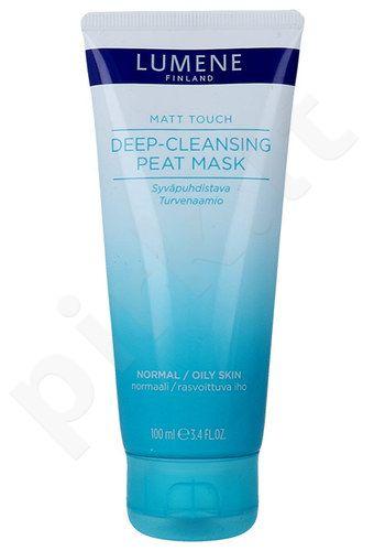 Lumene Matt Touch giliai valanti durpių kaukė, kosmetika moterims, 100ml