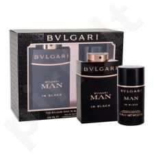 Bvlgari Man In Black rinkinys vyrams, (EDP 100 ml + pieštukinis dezodorantas 75 ml)