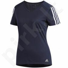 Marškinėliai Adidas Run 3 Stripes Tee W DX2019