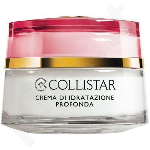 Collistar Idro-Attiva, Deep Moisturizing Cream, dieninis kremas moterims, 50ml