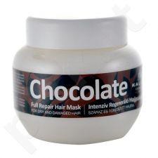 Kallos Cosmetics Chocolate, plaukų kaukė moterims, 275ml