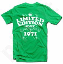 """Marškinėliai """"Limited edition"""" su Jūsų pasirinktais metais"""