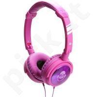 Idance JOCKEY-500 ausinės (rožinės)
