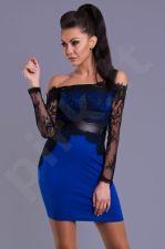Emamoda suknelė - mėlyno atspalvio 5702-7