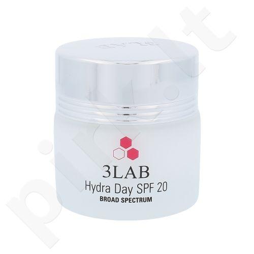 3LAB drėkinantis dieninis veido kremas SPF20, kosmetika moterims, 58ml