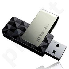 Atmintukas Silicon Power Blaze B30 16GB USB 3.0 Juodas