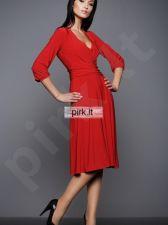 Suknelė S01 raudona spalva (S)