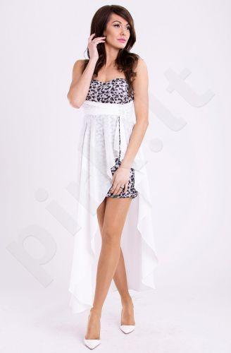 EVA&LOLA suknelė - balta 9708-5
