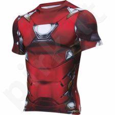Marškinėliai kompresiniai Under Armour Alter Ego Iron Man M 1273694-625