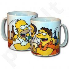 """Gigantiškas Simpsonų puodelis """"Bičiuliai"""""""