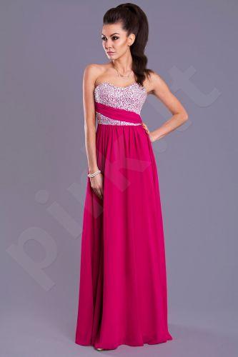 EVA&LOLA suknelė - fuksija 7816-3
