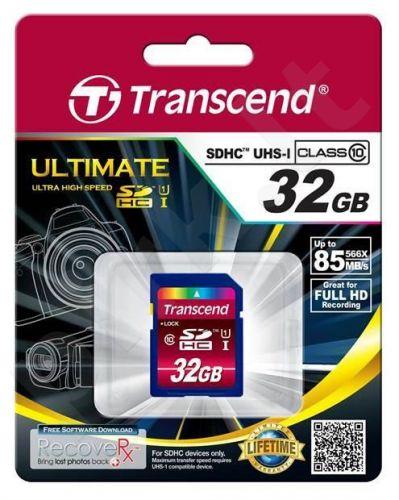 Atminties kortelė Transcend SDHC 32GB UHS1