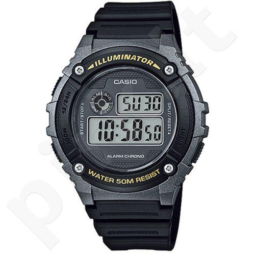 Vyriškas Casio laikrodis W-216H-1BVEF