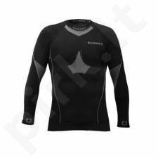 Marškinėliai ilgomis rankovėmis termoaktyvūs THERMO Wisser M juoda