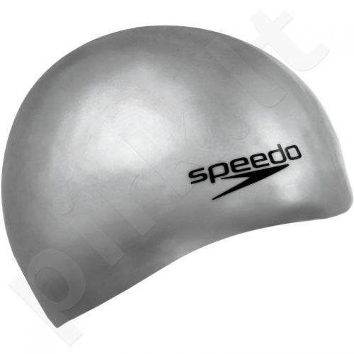 Maudymosi kepuraitė  Speedo Plain Moulded Silicone Cap 8-709849086