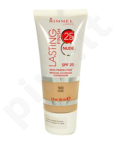 Rimmel London Lasting Finish 25h Nude Foundation, kosmetika moterims, 30ml, (300 Sand)