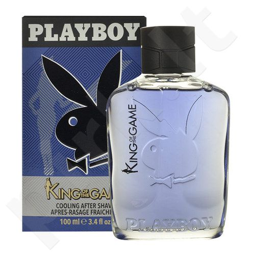 Playboy King of the Game, losjonas po skutimosi vyrams, 100ml