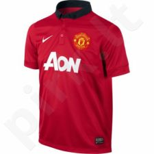 Marškinėliai futbolui Nike Repl Manchester United Junior 532849-624