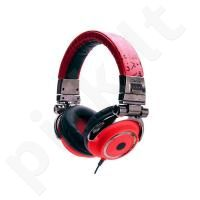 Idance DISCO-400 ausinės (raudonos)
