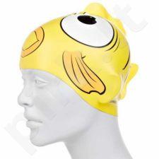 Maudymosi kepuraitė  Speedo Sea Squad Character Cap Junior 8-087690000 geltonas