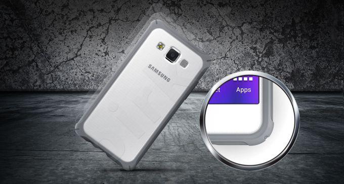 Samsung  Galaxy A5 apsauginis dėklas šviesiai pilkas