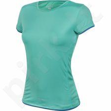 Marškinėliai treniruotėms Outhorn W TOL16-TSDF601 žalio atspalvio