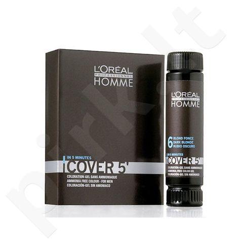 L´Oréal Professionnel Homme, Cover 5´, plaukų dažai vyrams, 3x50ml, (3 Dark Brown)