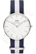 Laikrodis DANIEL WELLINGTON GLASGOW SILVER