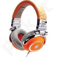 Idance DISCO-600 ausinės (oranžinės)