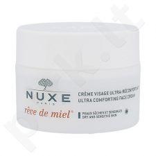 Nuxe Reve de Miel Ultra raminamasis veido kremas, kosmetika moterims, 50ml, (testeris)
