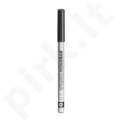 Gabriella Salvete Eyebrow Contour, antakių kontūrų pieštukas moterims, 0,28g, (04 Graphite)